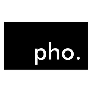 pho. tarjeta de sacador de la lealtad tarjetas de visita