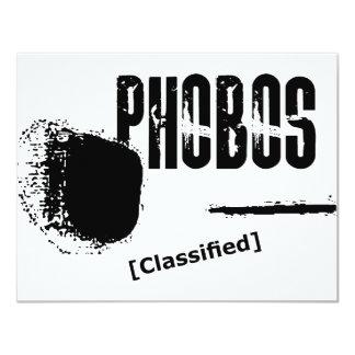 Phobos UFO Classified image Card
