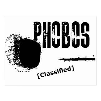 Phobos UFO Classified image Postcard