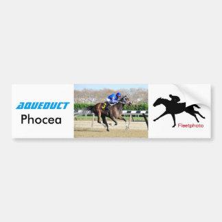 Phocea with Irad Ortiz Jr. Bumper Sticker