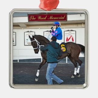 Phocea with Irad Ortiz Jr. Metal Ornament