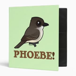 PHOEBE! 3 RING BINDER