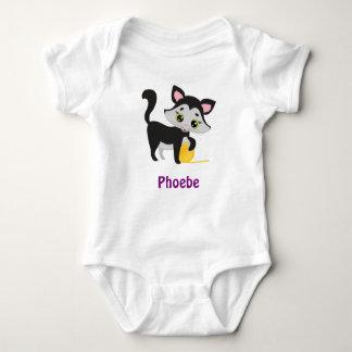 PHOEBE baby name gifts Baby Bodysuit