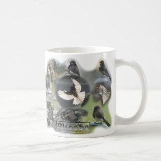 Phoebe Birds Photo Collage Wrap-around Coffee Mug
