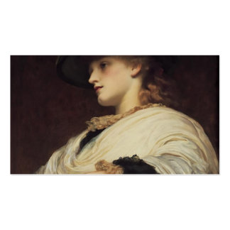 Phoebe by Frederic Leighton Business Cards