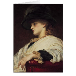Phoebe by Frederic Leighton Card