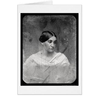 Phoebe Cary Daguerreotype 1856 Card