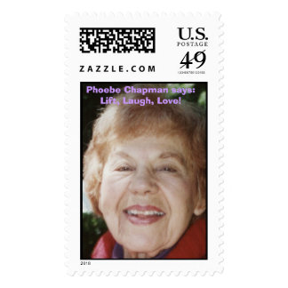 Phoebe Chapman Postage Stamp