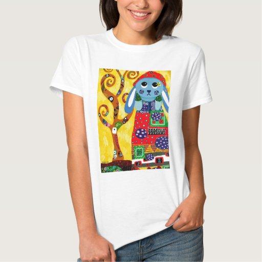 Phoebe en Klimt Remera