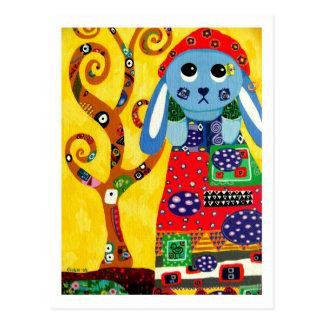 Phoebe en Klimt Tarjetas Postales