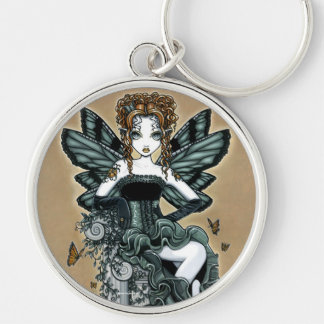 """Phoebe"" Gothic Couture Butterfly Fairy Keychain"