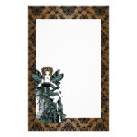 """""""Phoebe"""" Gothic Couture Butterfly Fairy Stationery"""