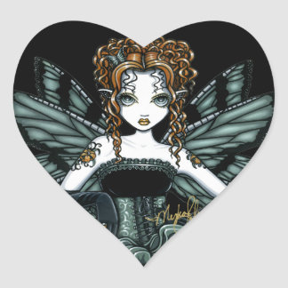 """""""Phoebe"""" Gothic Couture Butterfly Fairy Stickers"""