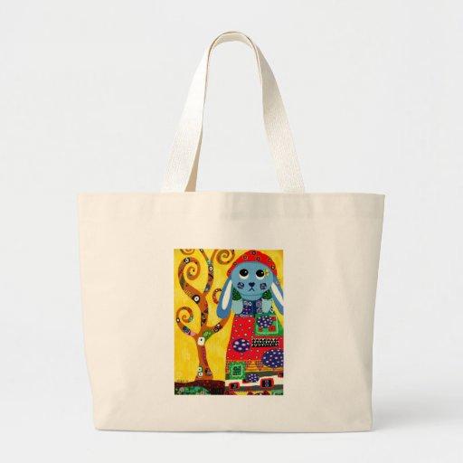 Phoebe In Klimt Jumbo Tote Bag