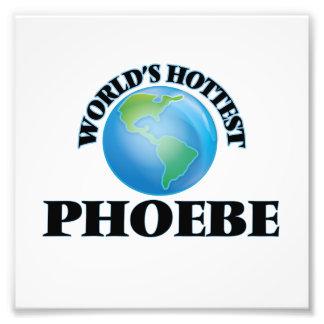 Phoebe más caliente del mundo arte fotográfico