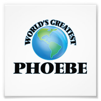 Phoebe más grande del mundo fotografia