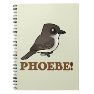 PHOEBE! SPIRAL NOTEBOOK