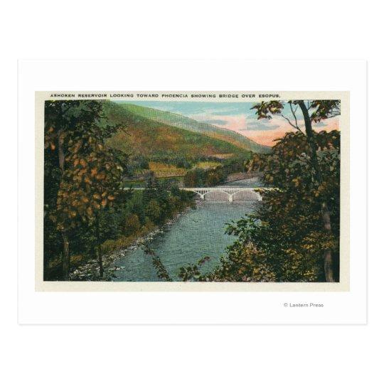 Phoencia, Bridge over Esopus Postcard