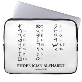 Phoenician Alphabet Ancient Language Symbols Laptop Sleeve