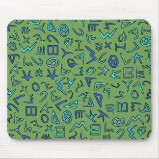 Phoenician alphabet mousemat