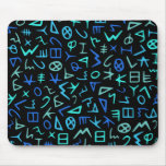 Phoenician alphabet mousepads