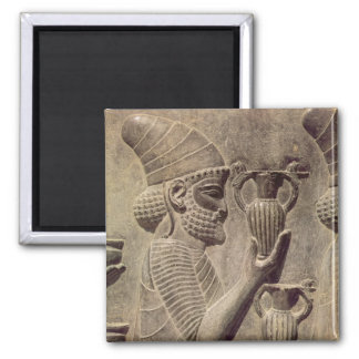 Phoenician carrying two offering detail relief refrigerator magnets