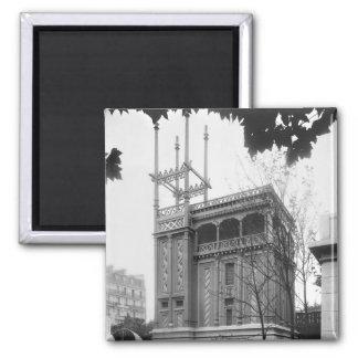 Phoenician House Universal Exhibition Paris Fridge Magnets
