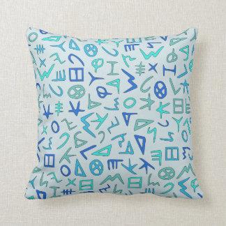 Phoenician Throw Pillow