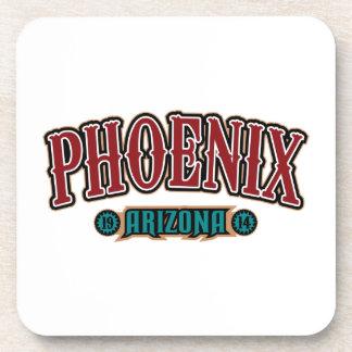 Phoenix 1914 beverage coaster