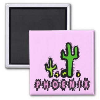 Phoenix 2 Inch Square Magnet