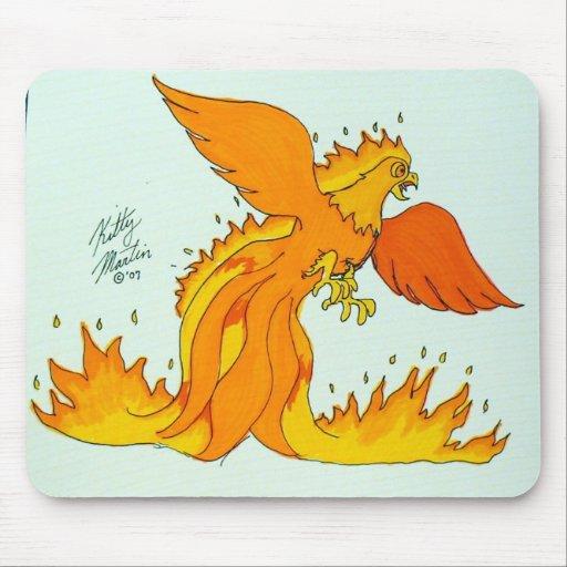 Phoenix Alfombrilla De Ratón