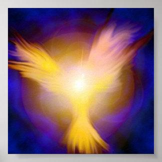 Phoenix Angel Poster