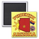 Phoenix, Arizona 2 Inch Square Magnet