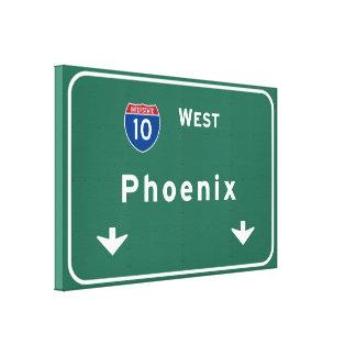 Phoenix Arizona az Interstate Highway Freeway : Canvas Print