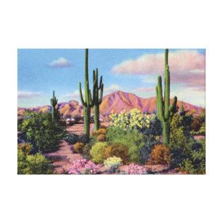 Phoenix Arizona Camelback Mountain Canvas Print