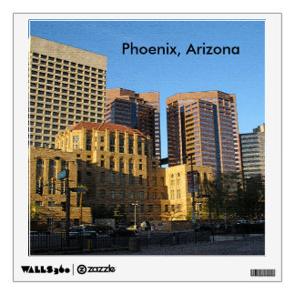 Phoenix, Arizona Downtown Wall Sticker