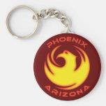Phoenix, Arizona Llavero Personalizado