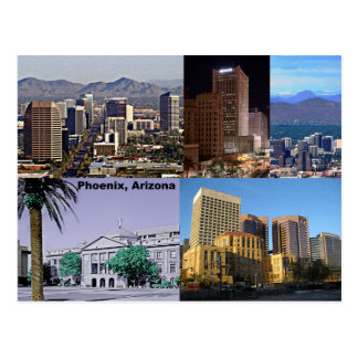 Phoenix Arizona Montage Postcard
