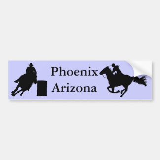 Phoenix Arizona Rodeo Bumper Sticker