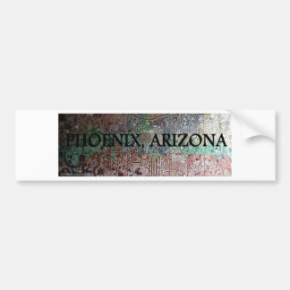 PHOENIX ARIZONA SIGHTS 3 BUMPER STICKER