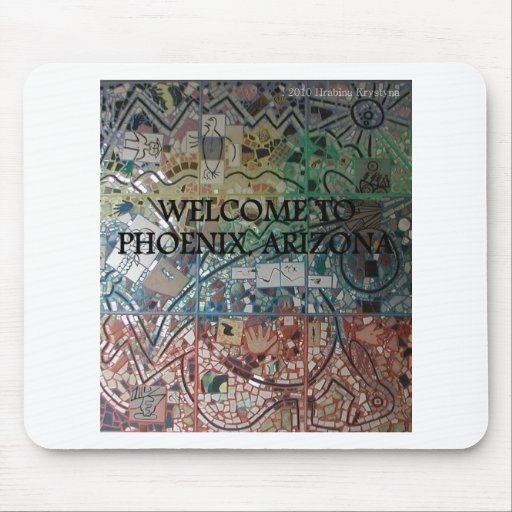 PHOENIX ARIZONA SIGHTS 5 MOUSE PAD