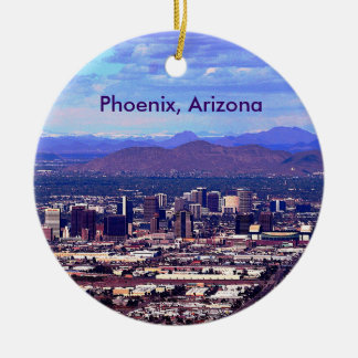 Phoenix, Arizona Skycape en d3ia Ornamente De Reyes