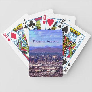 Phoenix, Arizona Skycape in Daytime Bicycle Playing Cards