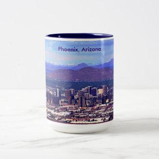Phoenix Arizona Skycape in Daytime Mug