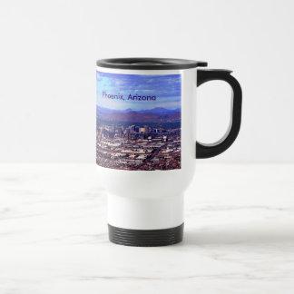 Phoenix Arizona Skycape in Daytime Coffee Mug