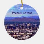 Phoenix, Arizona Skycape in Daytime Christmas Tree Ornament