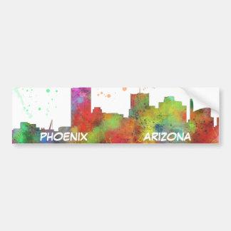 PHOENIX ARIZONA SKYLINE - Car Bumper Sticker