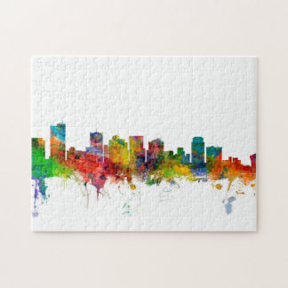 Phoenix Arizona Skyline Puzzle