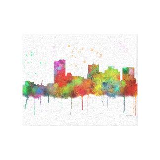 PHOENIX ARIZONA SKYLINE - Stretched Canvas Print