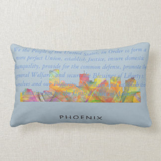 PHOENIX ARIZONA SKYLINE WB1 - Throw pillow